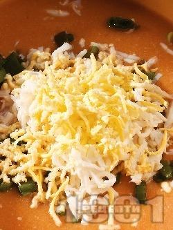 Крем супа от червена леща и тофу - снимка на рецептата